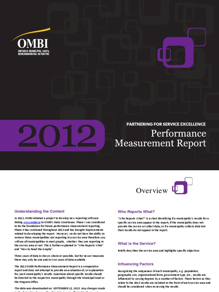 2012 OMBI Report External | Emergency Medical Services