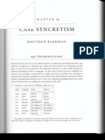 Case Syncretisam
