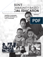 Blueprint for Community Based Financial Education