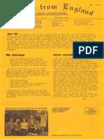 Epistles From England Team-1976-England