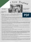 Epistles From England Team-1974-England