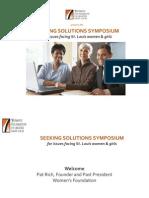 Seeking Solutions Women's Foundation 2013