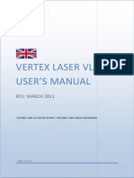 Vertex Laser VL402 ENU_Rev March 2011