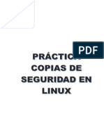 Copiaseguridad Linux