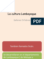 La Cultura Lambayeque Diapositivas