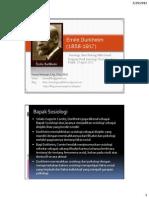 Emile Durkheim1 - Fakta Sosial