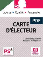 Carte Electorale Web