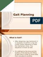 Gait Planning