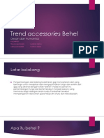 Trend Accessories Behel