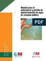 Manual Para Autocontrol y Gesti-n de Abastecimientos de Agua de Consumo P-blico