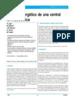 Analisis Exergetico de La Central