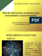 Red de Informacion Semantica Para Comunidades Autosustentables