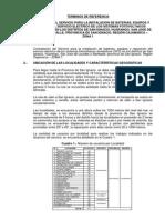 Tdr Instalacion de Baterias - Cajamarca Zona 1