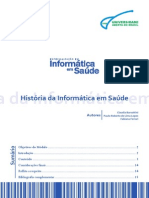 Disciplina História da Informática em Saúde - Semana 1