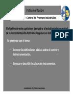 Instrumentacion-Generalidades