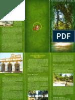 tríptico jardín histórico de forestier