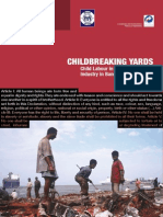 Child Labour Problem in Bangladesh Shipping Industry