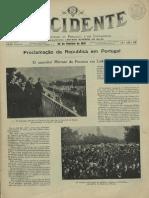 Occidente - Proclamação da República em Portugal