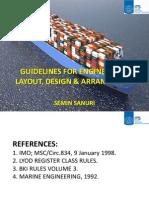 1. Guidelines for Engine-room Layout, Design & Arrangement