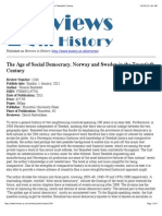The Age of Social Democracy. Norway and Sweden in the Twentieth Century