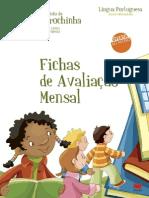 Fichas Avaliacao Mensal Carochinha-LP-1Ano