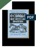 o Cavalo Que Defecava Dinheiro - Leandro Gomes de Barros