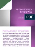 Paginas Web y Sitios Web