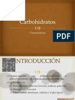 Carbohidratos Quimica de Alimentos