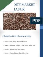 Masur Commodity