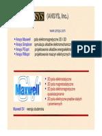 Maxwell SV Wstep