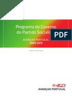 ProgramaGoverno PS 09 13