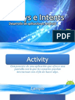 Activitys e Intents