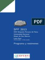 Spf Soperfi 2013