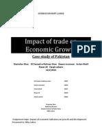 Impact of Trade on Economic Growth