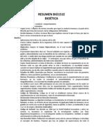 Resumen BIO131E Bioética