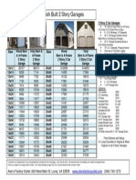 2 Story Garage Prices