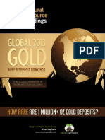 Global Gold Mine and Deposit Rankings 2013