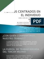 ACTIVOS CENTRADOS EN EL INDIVIDUO -DIRECCIÓN