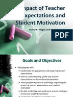 Teacher Expectations/Student Performance