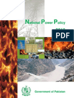 National Power Policy 2013 Pakistan