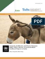 Livestock, Livelihoods, and Disaster Response
