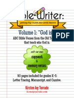 Bible Writer Volume 1 Preview