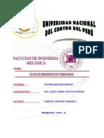CÁLCULO DE COMPONENTES DE UNA TURBINA FRANCIS