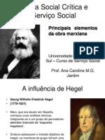Principais Elementos Da Obra de Marx