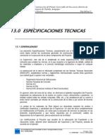 Especificaciones Tecnicas Puente Virgen Del Carmen