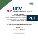 CYBER-DE-02 Manual de Usuario Final.doc