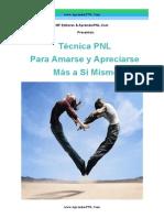 Tecnica PNL Para Amarse Mas a Si Mismo-AprenderPNL