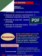Materiale Dentare -Curs 1