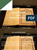 16 Aspectos Legales en El Manejo Del Personal