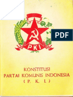 Konstitusi Partai Komunis Indonesia